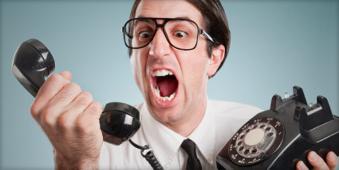 صدای خر خر روی خط تلفن نشانه چیست